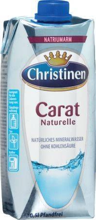 CHRISTINEN Mineralwasser Still 0,5l 2872111002/3626803006