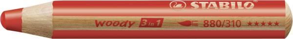 Multitalent Stift woody 3 in 1, rot