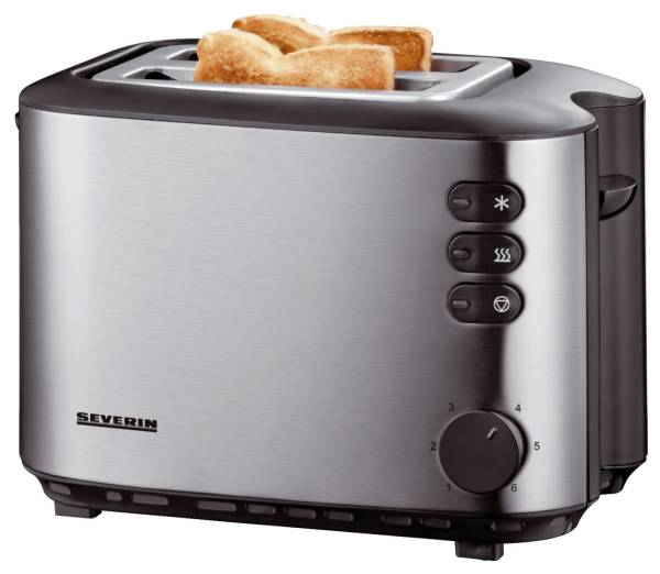 SEVERIN Toaster Automatic Edelstah AT 2514