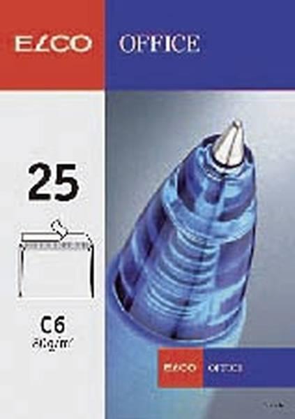 ELCO Briefhülle C6 HK o.Fe. weiss 74460.12 Offs. 80 50St