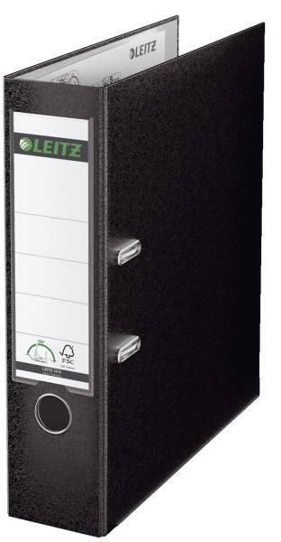 LEITZ Ordner Plastik A4 8cm schwarz 1010-50-95 180° Mechanik