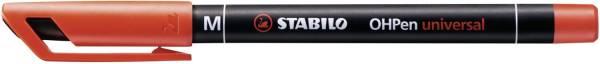 STABILO Folienstift OHPen M rot 843/40 permanent