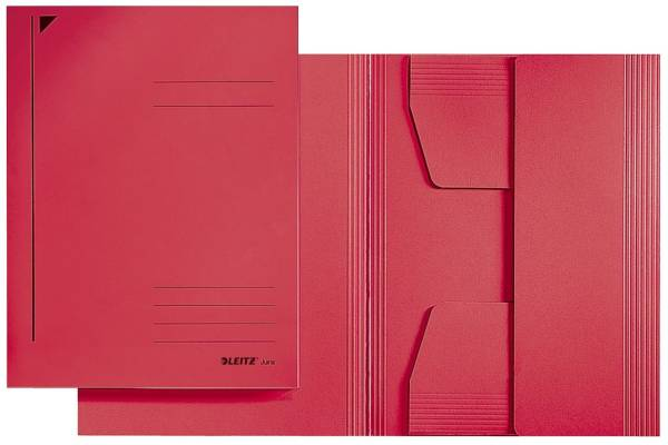 3924 Jurismappe, A4, Colorspankarton 300g, rot