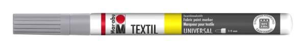 MARABU Stoffmalstift grau 0116 03 078 1-2mm