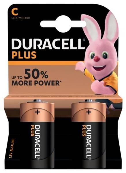 DURACELL Batterie MN1400K2 LR14 2ST DUR019089 PLUSPOWER