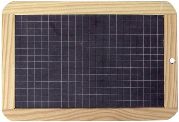 Schiefertafel 18 x 26 cm, Holzrahmen