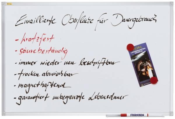 FRANKEN Schreibtafel 180x90cm SC3207 X-tra!Line