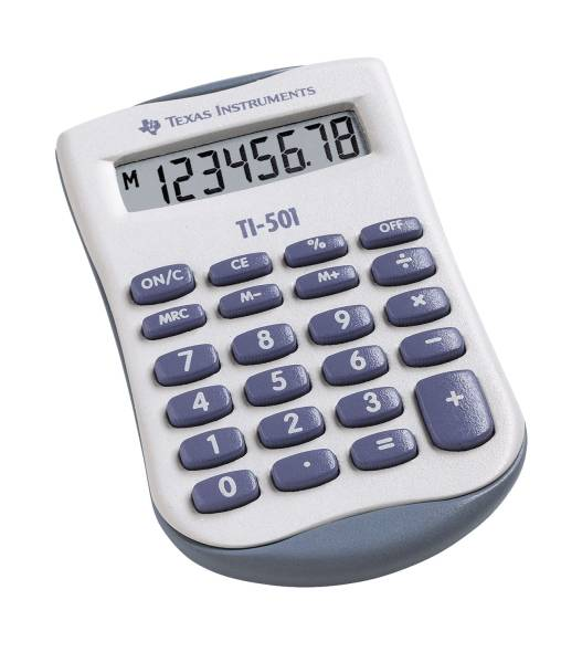 TEXAS INSTRUMENTS Rechner TI-501SV 104914