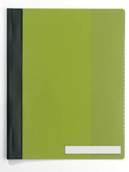 DURABLE Schnellhefter grün 2510 05 Überbreit