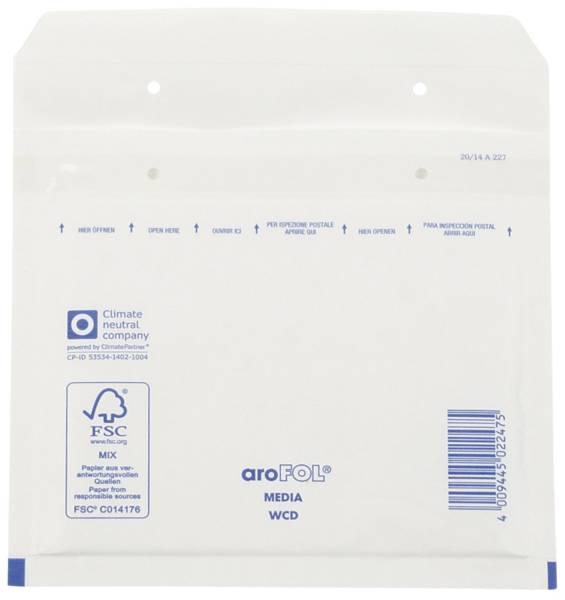 AROFOL Luftpolstertasche 100ST 200x175 weiß CD 2FVAF000113