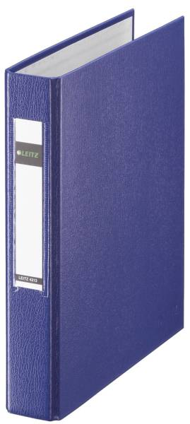 4213 Standard Ringbuch A5, 25mm, 2 Ringe, PP, blau