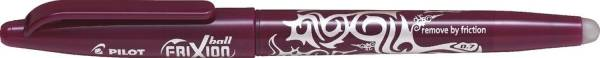 Tintenroller FriXion Ball 0 7 0,4 mm, dunkelrot, radierbar
