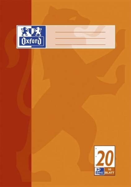 Schulblock Lin 20 A4, 50 Blatt, 90 g qm, 4 fach Lochung