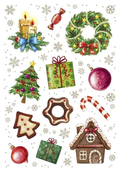 Schmucketikett Weihnachtszeit