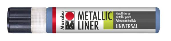 MARABU Metallic Liner 25ml blau 1803 09 752