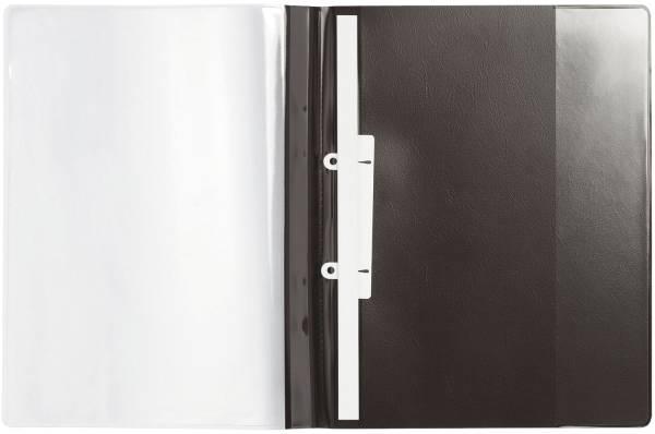 Angebotshefter DURAPLUS DE LUXE, strapazierfähige Folie, A4, schwarz®
