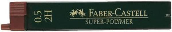 FABER CASTELL Feinmine SuperPolymer 2H 0.5 120512 12St