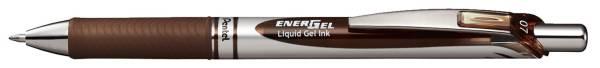 Liquid Gel Roller EnerGel BL77 0,35 mm, braun