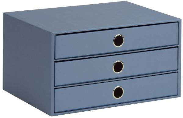 RÖSSLER Schubladenbox Soho smoky blue 15241452743 3er A4