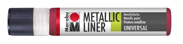 Metallic Liner Metallic Rot 732, 25 ml