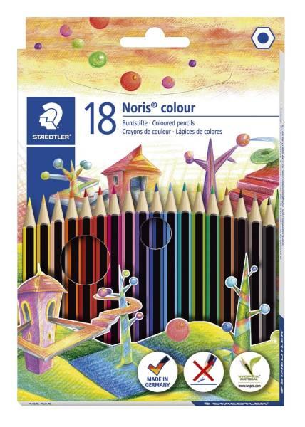 Farbstift Noris colour Kartonetui mit 18 Farben®