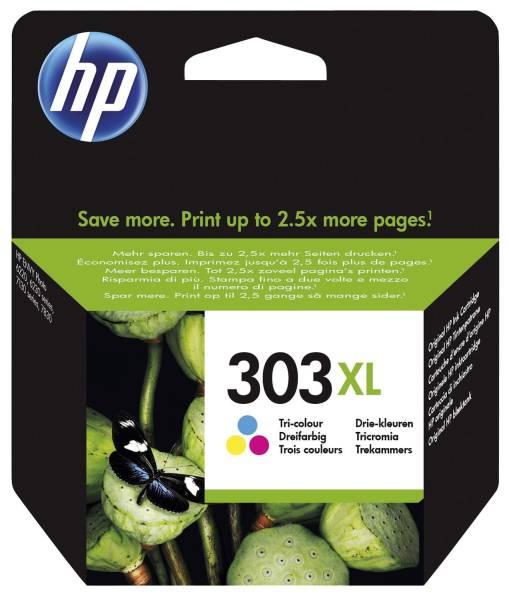 HP Inkjetpatrone Nr.303XL 3-färbig T6N03AE