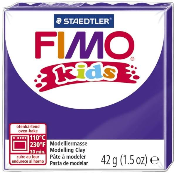 Modelliermasse Fimo violett