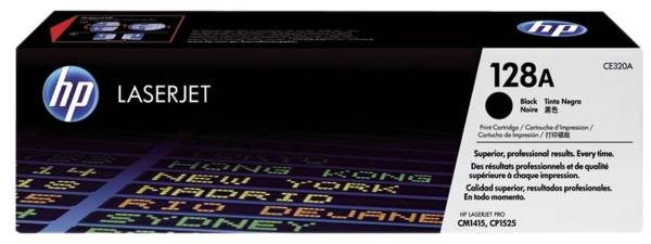 HP Lasertoner Nr. 128A schwarz CE320A