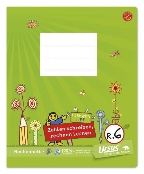 URSUS Formati Übungsheft 1x1 Quart 20BL R6 060562066