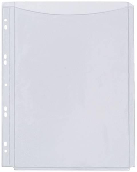 Klarsichthüllen für Kataloge glasklar, 0,18 mm, A4, Folie volle Höhe, 5 Stück