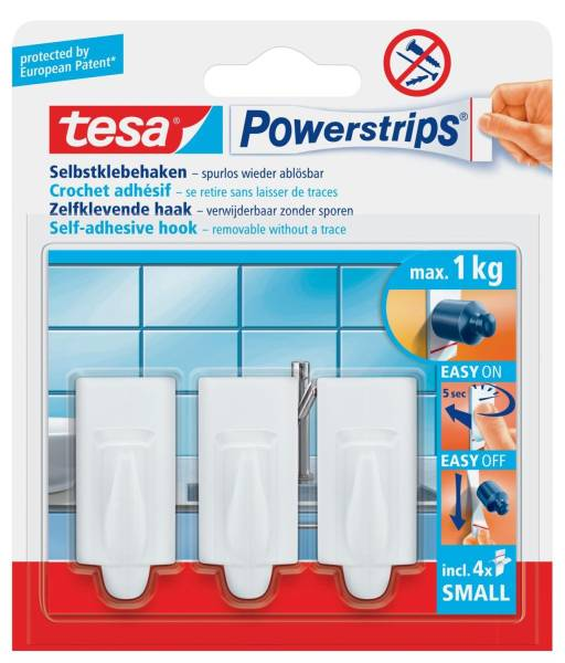 TESA Power Hacken weiß 57559-00000-00