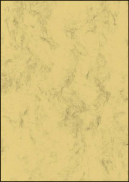 Marmor Papier, sandbraun, A4, 200 g qm, 50 Blatt