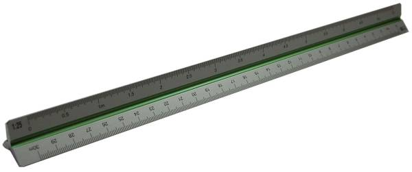 RUMOLD Dreikantmass-Stab 30cm Alu 195/DIN/30