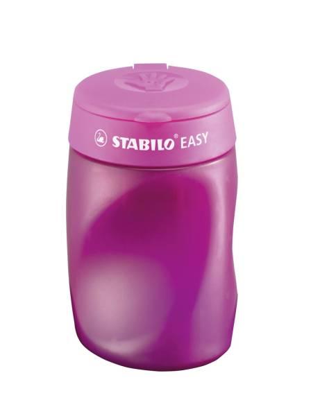 Ergonomischer Dosenspitzer 3 fach EASYsharpener, pink, R