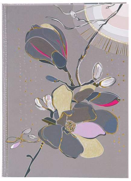 TURNOWSKY Notizbuch A5 Magnolia taupe 64 416 blanko