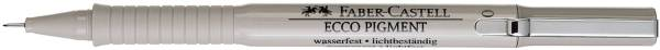 Tintenschreiber ECCO PIGMENT 0,1 mm, schwarz
