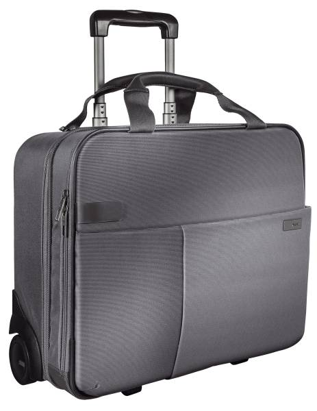Complete Trolley Smart Traveller Handgepäck, Polyester, silber grau