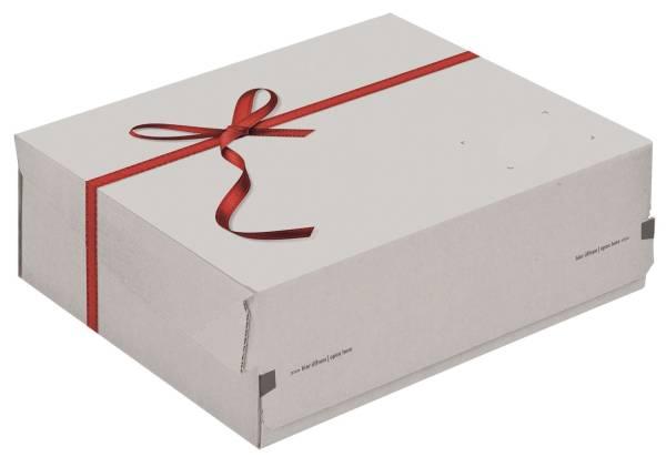 COLOMPAC Geschenkbox Small weiß 30011637 241x166x94mm