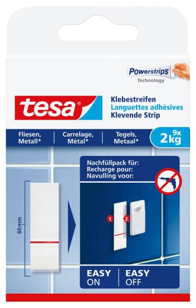 TESA Klebestrips 2000g weiß 77760-00000-00 9ST