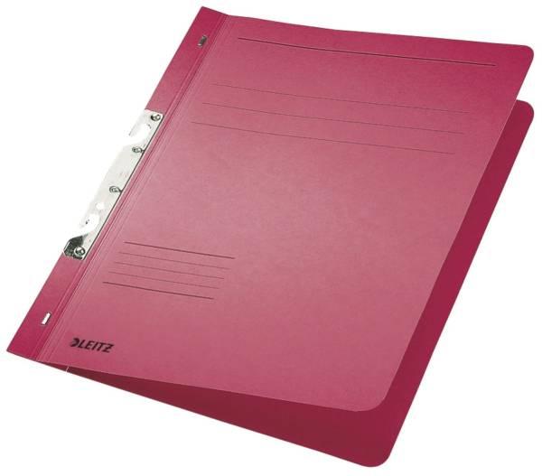 3746 Schlitzhefter, 1 1 Vorderdeckel, A4, kfm Heftung, Manilakarton 250 g qm, rot