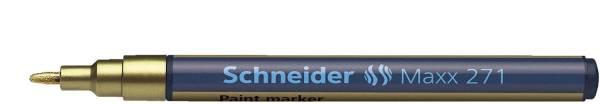 SCHNEIDER Lackmalstift gold 271 SN127153 1-2mm