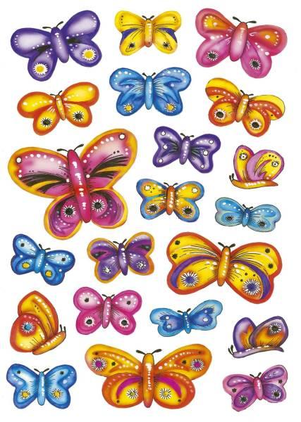 3441 Sticker DECOR Design Schmetterlinge