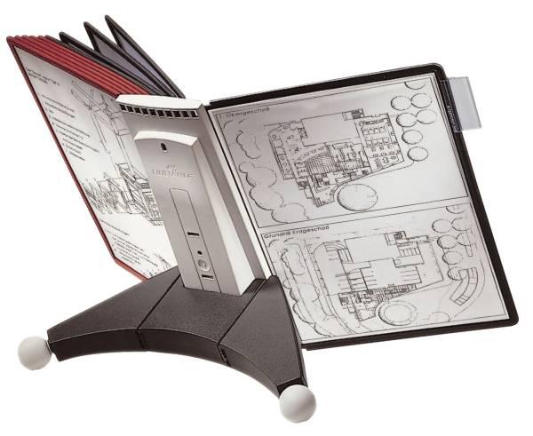 Sichttafelsystem SHERPA TABLE 10 Tafeln, anthrazit grau®