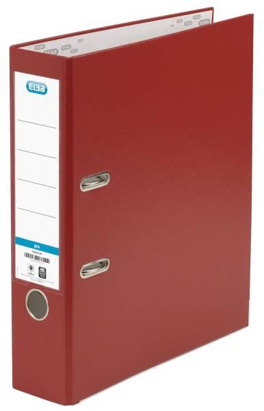 Ordner smart Pro (PP Papier) A4, 80 mm, rot