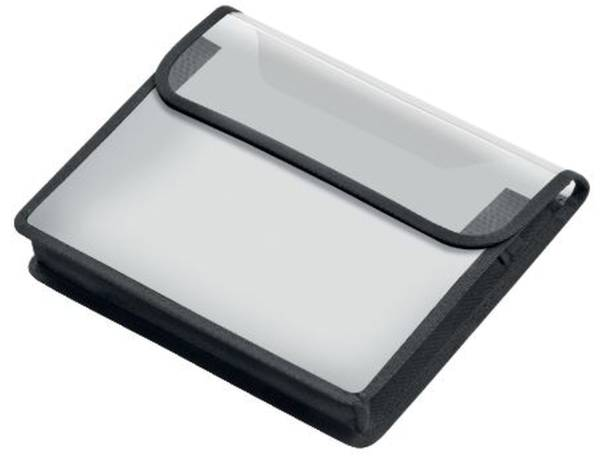 VELOFLEX Heftbox A5 quer matt transparent 1450 291