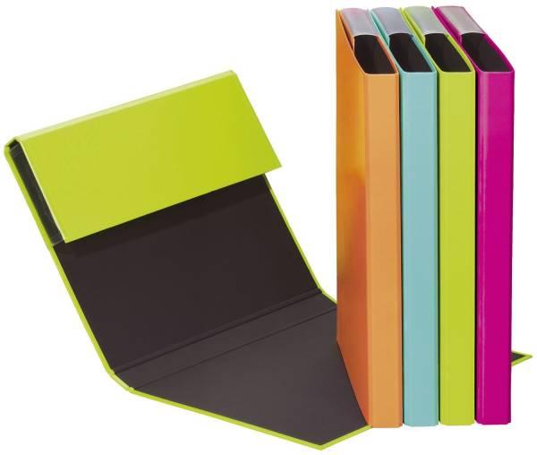 PAGNA Heftbox A5 sortiert 21101 Trendfarben