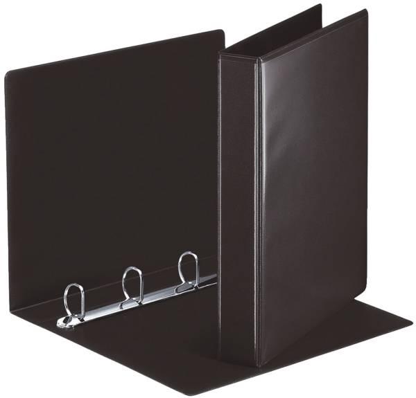 ESSELTE Ringbuch A4 4R 30mm schwarz 49717
