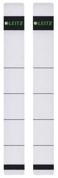 1646 Rückenschilder extra schmal kurz, 23 x 192 mm, hellgrau