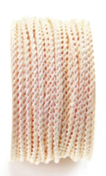 Kordel 3 mm x 25 m, creme