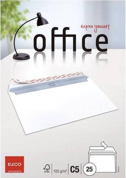 ELCO Briefhülle Office C5 80g weiß 74470.12 HK PG=25St